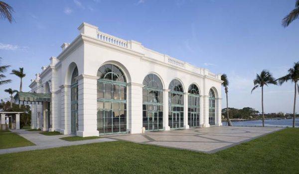 Flagler Kenan Pavilion west facade
